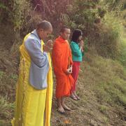 NPĐ Thành Tâm Cám Ơn Chư Vị | Thầy Ni Phật Tử, buổi lể Cúng Dường Lá Bồ Đề 10 Phương Chư P...