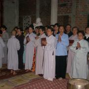Niệm Phật Đường Cúng Dường Phật Tử Kinh Chánh Pháp Sangatha