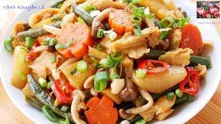 RAU CỦ KHO CHAY - Ngon bổ rẻ Rau Củ quả Kho Chay thơm ngon ăn Chay hay mặn đều được by Vanh Khuyen