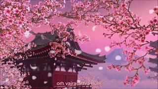 NGỌT NGÀO thần chú Kim Cang Tát Đỏa với hoa anh đào nhẹ nhàng rơi - Om Vajrasattva Hum