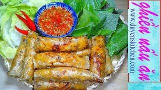 Cách Làm RAM BẮP CHAY Giòn Tan By Duyen's Kitchen | Ghiền Nấu Ăn