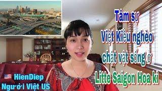 Tâm sự Việt Kiều nghèo chật vật sống ở Litte Saigon Hoa kì