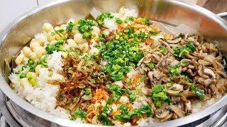 XÔI CẤP TỐC / XÔI CHAY - Bí quyết nấu Xôi mặn chay thập cẩm dẻo mềm tuyệt vời by Vanh Khuyen