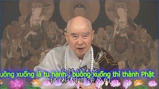 Buông xuống là tu hành , buông xuống thì thành Phật