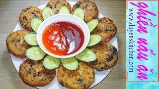 Cách Làm CHẢ CHAY Từ Rong Biển Và Đậu Hủ By Duyen's Kitchen | Ghiền Nấu Ăn