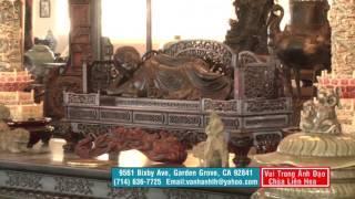 Thăm Bảo Tàng Viện Chùa Bảo Quang Tại Thành Phố Santa Ana Quận Cam