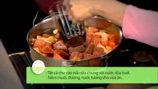 Mít kho nước dừa