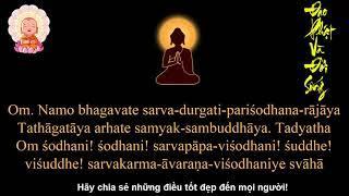 Thần Chú Tỳ Lô Giá Na Phật(Đại Nhật Như Lai Thần Chú) (Tiếng Phạn)