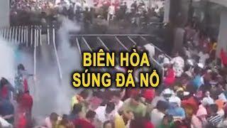 Biên Hòa Sú/ng đã n/ổ🛑 CSCĐ đ/àn á/p dữ dội CN biểu tình  phản đối Luật Đặc khu tại Công ty Boucher