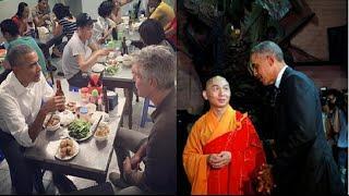 Toàn cảnh 3 ngày tổng thống Mỹ Obama đến Việt Nam, ăn bún chả, đi chùa, bắt tay dân, gặp gỡ bạn trẻ