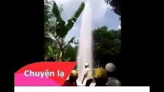 Chuyện lạ Việt Nam: Dòng thác trên trời đổ xuống tại Buôn Hồ, ĐăkLắk