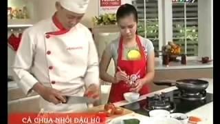 Đậu hủ nhồi cà chua mon chay - Món Ngon Mỗi Ngày