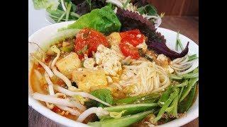 BÚN RIÊU CHAY - Bí quyết làm Riêu Chay  từ Đậu Nành - cách nấu Bún Riêu Chay by Vanh Khuyen
