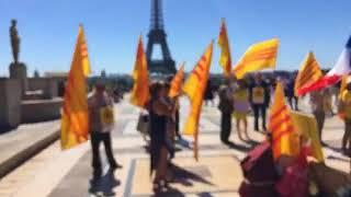 23/06/2018 Paris Biểu Tình Đồng Hành cùng Quốc Nội Chống Cướp Nước và Bán Nước!