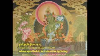 Thần chú mật tông - thế giới tâm linh-21 Praises to Tara - Chanted by the 17th Karmapa
