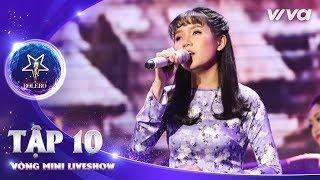 Hoàng Hôn Màu Tím - Quỳnh Trâm | Thần Tượng Bolero 2018 | Tập 10 - Vòng Mini Liveshow