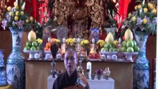 """"""" Pháp - thân người khó được """" - Sư ông Thích Đạo Ấn giảng 25/12/2013. ( Đĩa 01 )"""