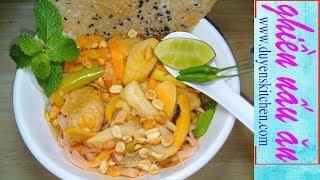 Cách Nấu MÌ QUẢNG CHAY Đậm Đà Đúng Vị Miền Trung By Duyen's Kitchen | Ghiền Nấu Ăn