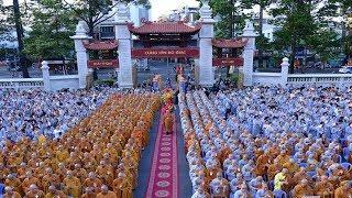 Hàng ngàn người dự Đại lễ Phật đản PL.2563 tại Việt Nam Quốc Tự
