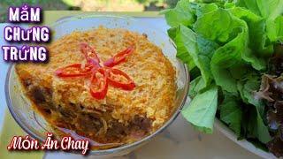 Cách Làm MẮM CHAY CHƯNG TRỨNG Thơm Ngon/Món Ăn Chay/Bà Mẹ Quê