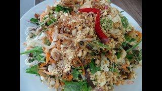 GỎI CHAY - Món Chay - Cách làm Gỏi Chay với Nấm, Rau Củ Quả - Bí quyết để Gỏi khô ráo by Vanh Khuyen