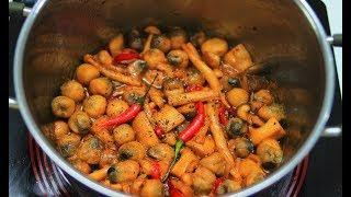 Cách nấu Nấm Kho Tiêu chay thơm ngon hấp dẫn / Món Chay Ngon
