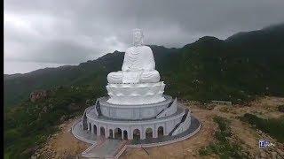 Toàn cảnh Chùa Linh Phong (Chùa Ông Núi) - Bình Định | Tượng Phật cao nhất Đông Nam Á