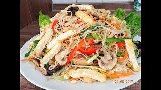 BÚN XÀO - Món Chay - Bí quyết Xào Bún gạo KHÔNG bị nát, KHÔNG dính chùm by Vành Khuyên