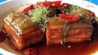 THỊT KHO TÀU chay món chay ngon ngày tết (vegan recipes) l Thanh cooking món ăn chay