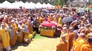 Khai Mạc  Đại Lễ Phật Đản Lịch 2561 Tổ Chức Tại MILE SQUARE PARK  Ngày 23-04-2017     (  Phần 2  )