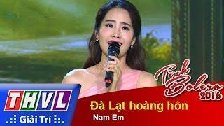 THVL | Tình Bolero 2016 - Tập 5: Đà Lạt hoàng hôn - Hoa khôi ĐBSCL  Nam Em