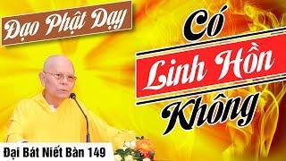 ĐẠI BÁT NIẾT BÀN kỳ 149 (Video) Đạo Phật Dạy Có Linh Hồn Không | HT Thích Từ Thông