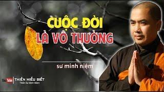 Cuộc Đời Là Vô Thường ( Rất hay & Sâu sắc ) - Thầy Minh Niệm giảng