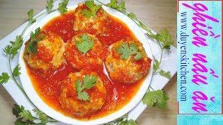 Cách Làm XÍU MẠI CHAY Béo Thơm Từ Đậu Hủ Và Nấm By Duyen's Kitchen | Ghiền Nấu Ăn