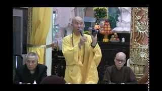 HT Thích Quảng Thanh họp báo tại chùa Huệ Quang #2