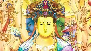 Chú Kim Cang Tát Đỏa Bồ Tát - Om Vajra Sattva Hum (Om Benza Satto Hum) - Trung Tâm Dần Nguyệt