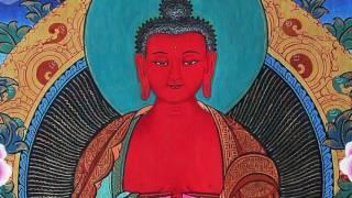 Đức Phật A Di Đà  -  OM MANI DEVA HRI - thần chú mật tông